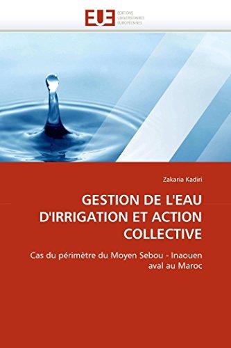 Gestion de l''eau d''irrigation et action collective par Zakaria Kadiri
