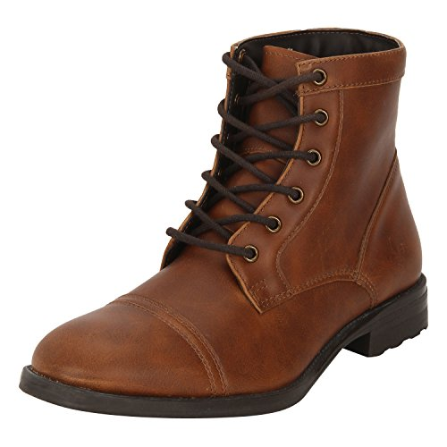 Bond Street by (Red Tape) Men's Tan Boots - 9 UK/India (43 EU)