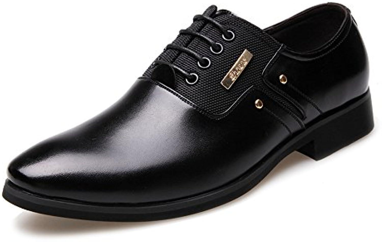 Easy Go Shopping Scarpe di Pelle, Scarpe da Lavoro da Uomo Matte Opaco in Pelle e Canvas Giunture con Fodera Slip-on... | tender  | Uomini/Donne Scarpa