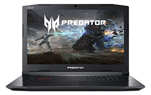Acer Predator Helios 300 PH317-51-787X 17.3-inch Full HD Gaming Notebook (Intel Core i7-7700HQ, 16GB RAM, 1TB HDD & 256GB SSD, NVIDIA GTX 1060, VR Ready, Windows 10, Black)