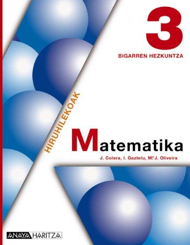 Matematika 3. - 9788467801798