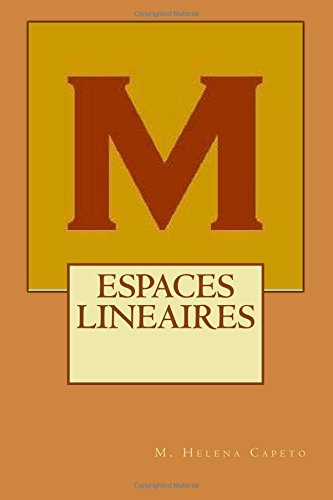 Espaces Lineaires: Algebre Lineaire