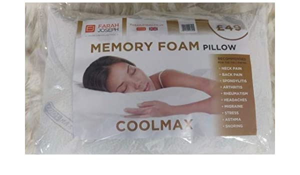 CoolMax Memory Foam Pillow: Amazon.co