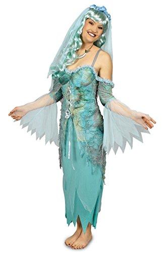 Damen Kostüm Meerjungfrau Nixe Karneval Fasching Gr.36/38