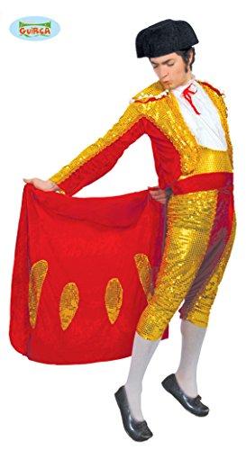 Torero Stierkämpfer - Kostüm f. Herren Karneval Fasching Arena Kampf Stier Gr. M - L, Größe:L