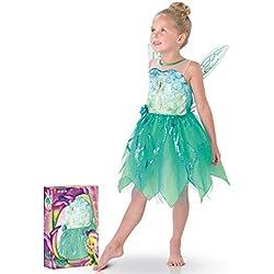 Disney - 154981m - Disfraces para Niños - Set Deluxe Tinkerbell Pixie - Talla M