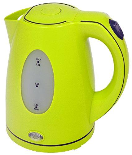 Efbe-Schott SC WK 5010 Wasserkocher, 1,5 L, 2200 W, Farbe Lemon