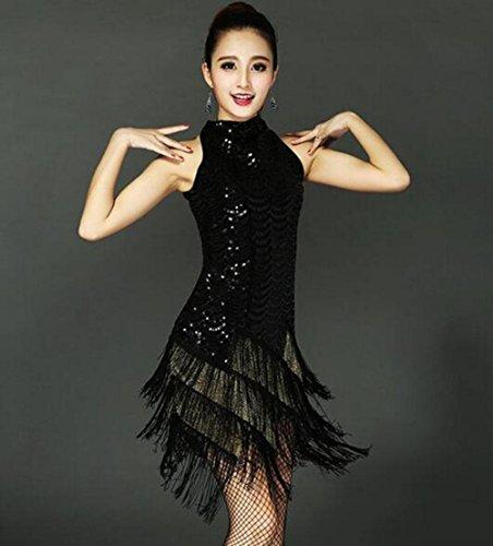 leidung weiblicher Erwachsener Kostüm Wettbewerb Quaste Kleid Rock, XL ()