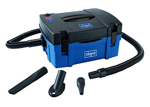 Scheppach Absauganlage HD2P (kompakt, 1250 Watt, Luftleistung: 120m³/h, Füllmenge: 5 L, Filtergröße: 350 x 250mm, Schlauch-Ø/-länge: 40 / 2000mm, 3in1 Absauganlage, Staubsauger, Ausblasfunktion)