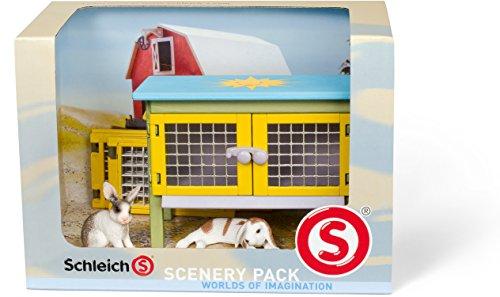 Schleich 41800 - Catalog Scenery Pack Kaninchen