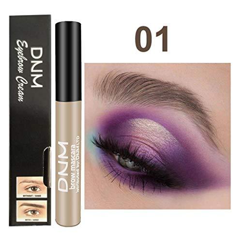 Sourcils Gel, teinture pour sourcils, Eyebrows Gel, Brows Tint, Waterproof Longue Durée, Sourcils Parfaits en 2 Minutes,Imperméable à l'eau de sourcils d'Enhancers de maquillage (A)