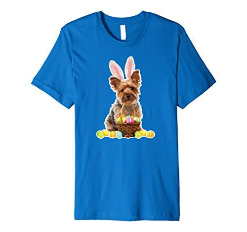 Yorkie Oster-T-Shirt Yorkshire Terrier Kaninchenohren