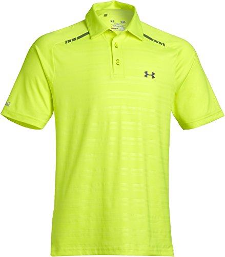 Under Armour Coldblack T Shirt De Polo De Golf Pour Homme Forged Stripe