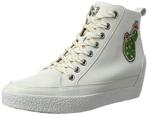 Marc Cain Damen Hb Sh.26 L47 Sneaker Weiß (White)