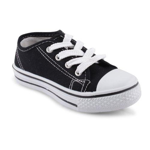 Footwear Sensation , Jungen Sneaker Schwarz schwarz Schwarz