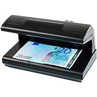 Detector de dinero. Detector billetes falsos. Reconoce dinero controla euros luz UV