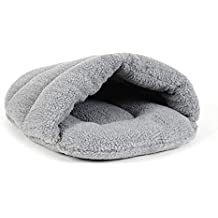 PETCUTE Cama para Perros Sacos de Dormir para Gatos Cama de Cueva para Perros Nido para