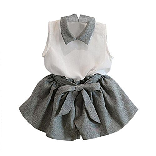 internet-kids-girls-clothes-set-sleeveless-t-shirt-bowknot-shorts-1-6-y-100-2-3y-grey