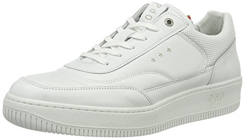 Pantofola d'Oro 10171046, Scarpe da Ginnastica Basse Uomo, Bianco (Bianco (Bright White)), 43 EU