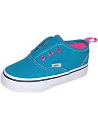 Vans Authentic - Zapatillas de Lona para niña Turquesa iridescent pop capri