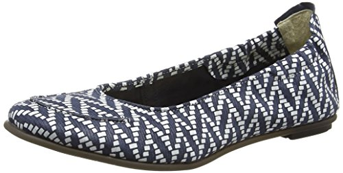 FLY London Damen Fahd974fly Peep-Toe Blau (midnight 006)