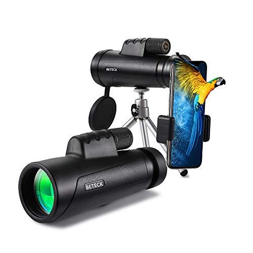 Telescopio Monocular 12 x 50, BETECK HD Zoom Óptico Telescopio Impermeable...