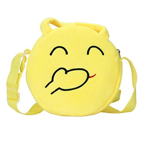 Imagen de bolso  para mujer sannysis mujeres emoticon bolso de hombro impresión emoji 03