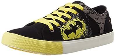 Batman Men's Black and Grey Sneakers - 8.5 UK/India (43 EU)