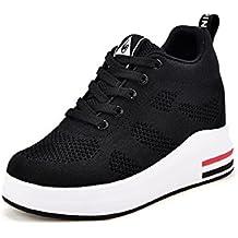 Zone3 Scarpe Ginnastica Uomo Donna Unisex Tela Sneaker Alte Casual Nero 119-146A (38) TylMSQE