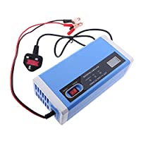 Sharplace 10A Car Battery Charger Automatic Smart Intelligent Pulse Repair 12V /24V