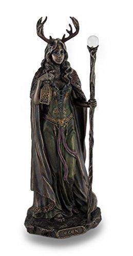 luyddawg der Möglichkeiten, Bronze Finish Statue Pagan Göttin -