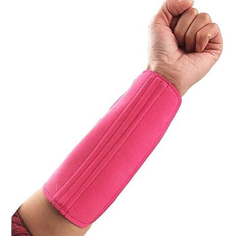 NUOLUX Tiro con l'arco durevole Sport 3-strape braccio Proteggi Wrap (Avambraccio Guardia)