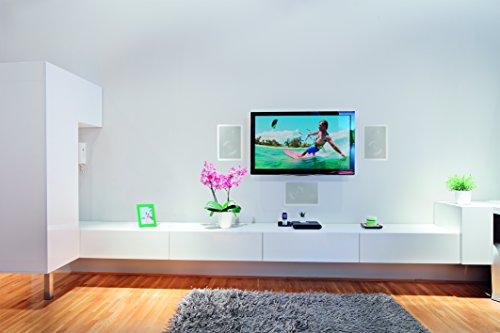 Magnat 158420 Interior IWP 62 | Wandeinbaulautsprecher | schwenkbarer 25mm Hochtöner | Installation im Handumdrehen | max. 120 Watt | 1 Stück - weiß