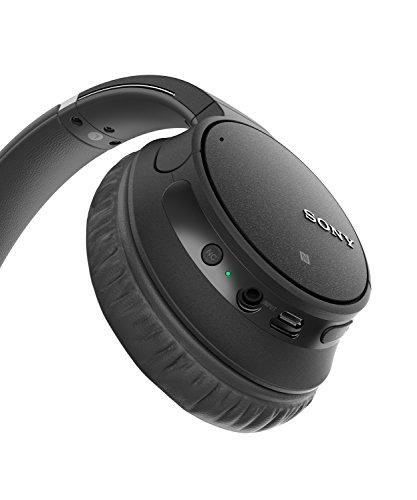 Sony WH-CH700N kabelloser Noise Cancelling Kopfhörer (Bluetooth, bis zu 35 Stunden Akku, Schnelladefunktion, NFC, Amazon Alexa) schwarz - 3