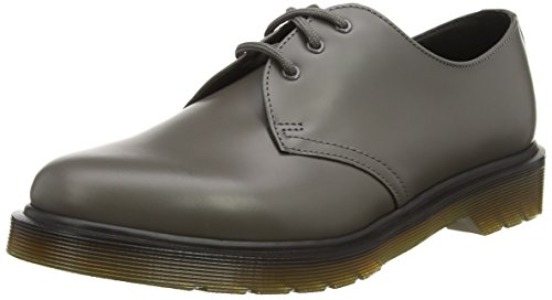 Dr. Martens 1461 Smooth Last 84, Brogues Mixte Adulte, Gris