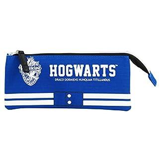 Harry Potter Ravenclaw Estuche Portatodo con 3 Cremalleras Escolar Làpices de colores Necesser