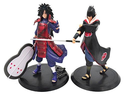 CoolChange Naruto Figuren Set bestehend aus einer Sasuke und einer Madara Uchiha Figur (Naruto Und Sasuke)