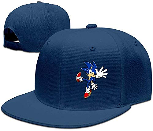 c Art Assets DVD Sonic The Hedgehog 5 Baseball Snapback Cap Black ()