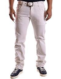 Dirk Bikkembergs Hombre MCBI097045O Blanco Algodon Jeans