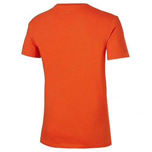 Asics Oberbekleidung Camouflage Logo Short Sleeve Top Orange
