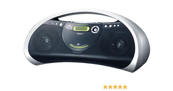 Sony Zs Yn 7 Mp3 Cd Radiorekorder Silber Audio Hifi