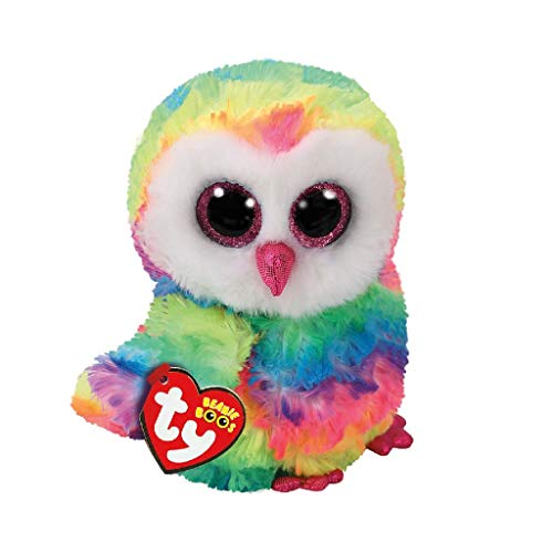 Beanie Boo Owl - Owen - Multicoloured - 15cm 6""