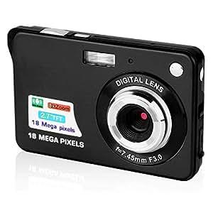camking digitalkamera 2 7 zoll tft lcd hd mini. Black Bedroom Furniture Sets. Home Design Ideas