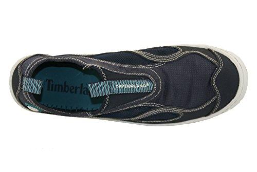 Timberland Wake FTP 58620, Chaussures de voile femme Bleu - bleu