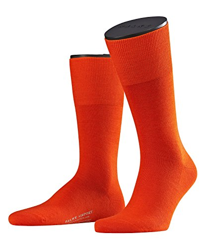 falke-herren-socken-14435-airport-business-so-orange-ziegel-8095-gr-41-42