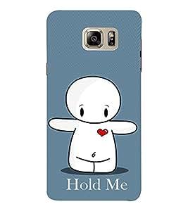 EPICCASE Hold Me Mobile Back Case Cover For Samsung Note 6 (Designer Case)