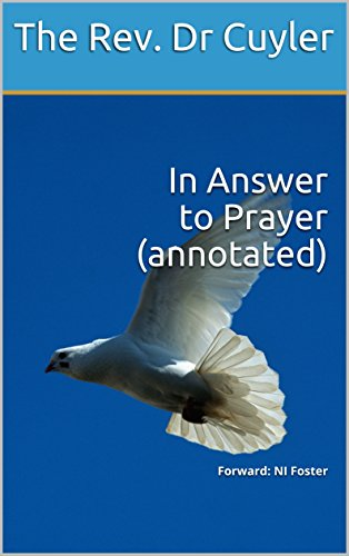 In Answer  to Prayer (annotated): Forward: NI Foster