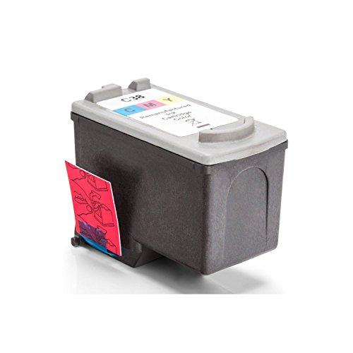 Inkadoo Tinte kompatibel zu Canon Pixma IP 2600 2146B001 CL38, CL-38 2146B001, Premium Drucker-Patrone Alternativ, Cyan, Magenta, Gelb, 360 Seiten, 9 ml