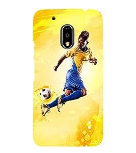 football the greatest sport of all time 3D Hard Polycarbonate Designer Back Case Cover for Motorola Moto G4 :: Motorola Moto G (4 th Gen)