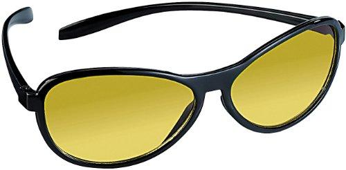 PEARL Nachtfahrbrille: Kontrastverstärkende Nachtsichtbrille (Blendschutzbrille)